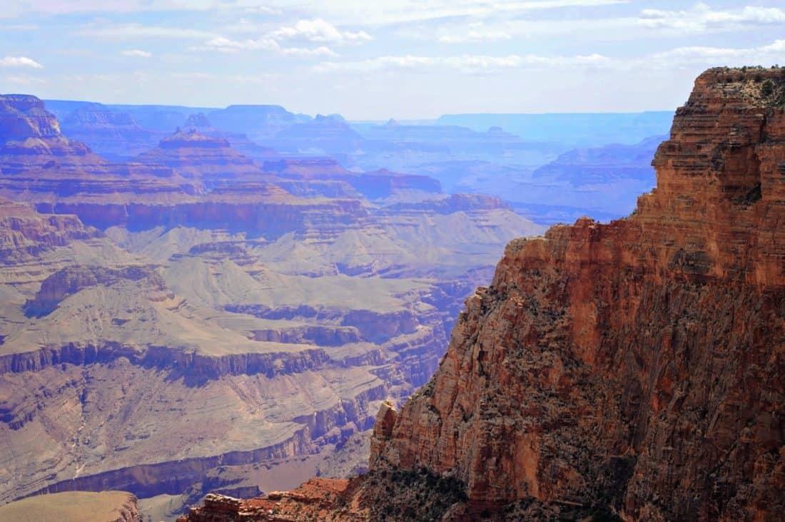 canyon, landscape, mountain, valley, geology, sky, desert