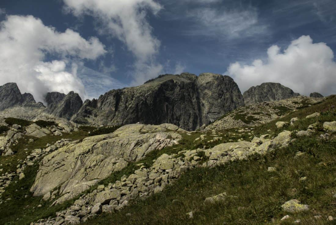 landscape, mountain, sky, cloud, wilderness, stone, nature, outdoor