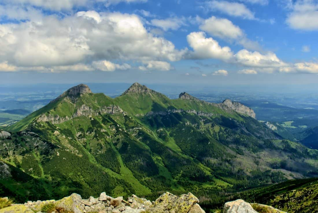 mountain, landscape, wilderness, nature, sky, cloud, blue sky, outdoor