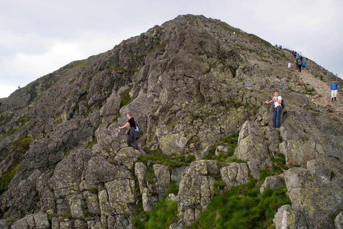 climb, adventure, landscape, hike, mountain, mountain climbing, people