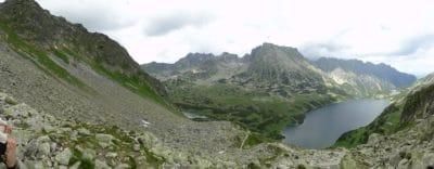 krajolik, planinski vrh, jezero, voda, dolina, priroda, nebo, vanjski