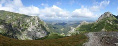 montaña, paisaje, pico de la montaña, nube, naturaleza, cielo, Valle, parque, al aire libre