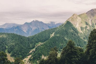 mountain, landscape, tree, mountain peak, forest, geology, outdoor, sky, nature