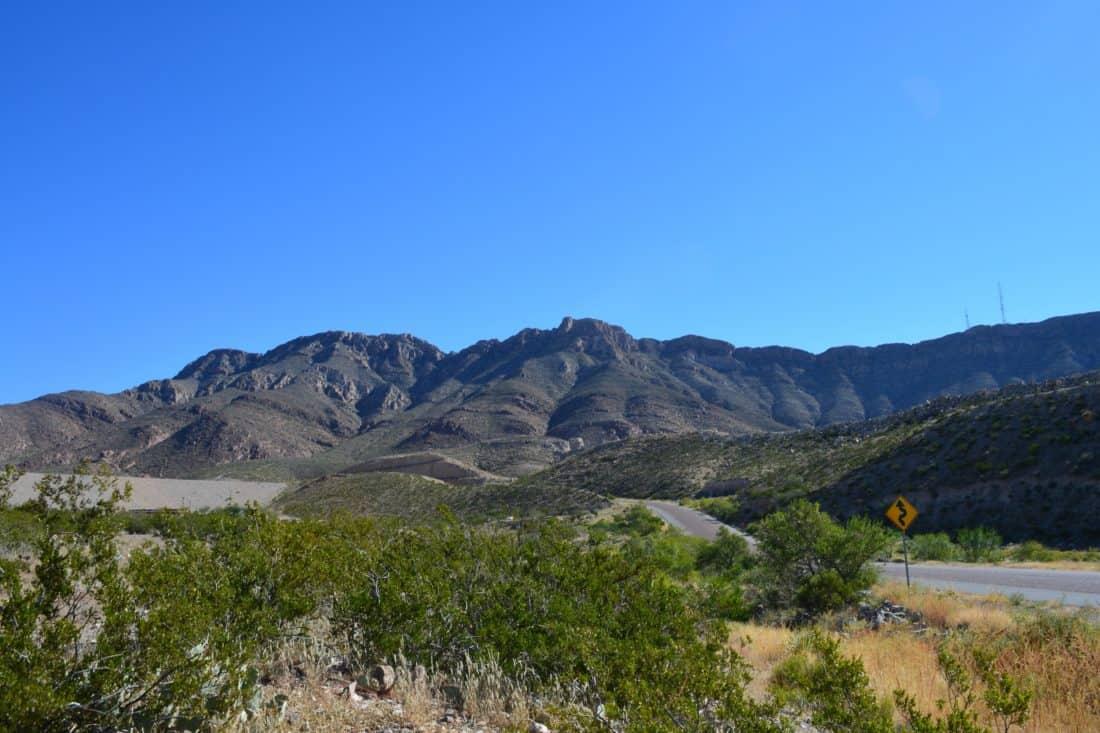 landscape, mountain, blue sky, nature, snow, outdoor, grass