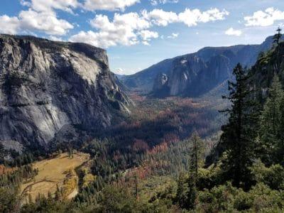 Gunung, belantara, geologi, pemandangan, alam, langit, lembah, awan