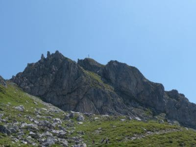 landscape, mountain, mountain peak, geology, blue sky, daylight, outdoor