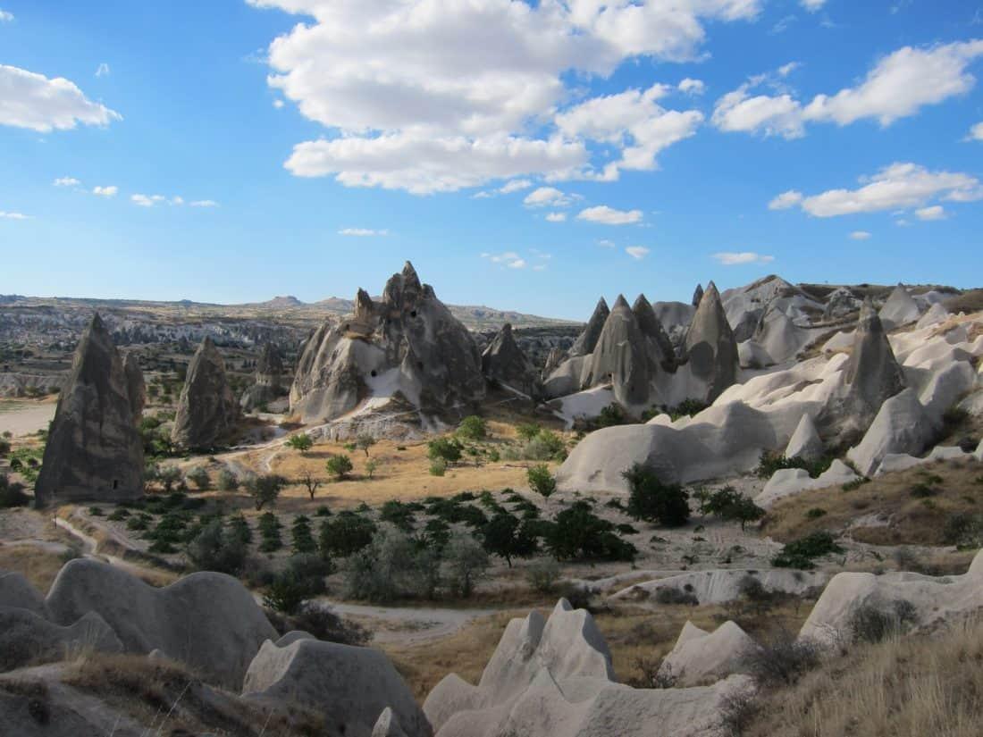 landscape, mountain, sky, desert, blue sky, sand, desert, outdoor, nature