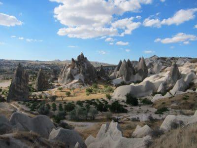 paisaje, montaña, cielo, desierto, cielo azul, arena, desierto, al aire libre, naturaleza