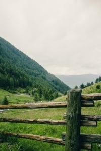 landscape, pasture, meadow, rural, wood, nature, mountain, fence, grass, outdoor