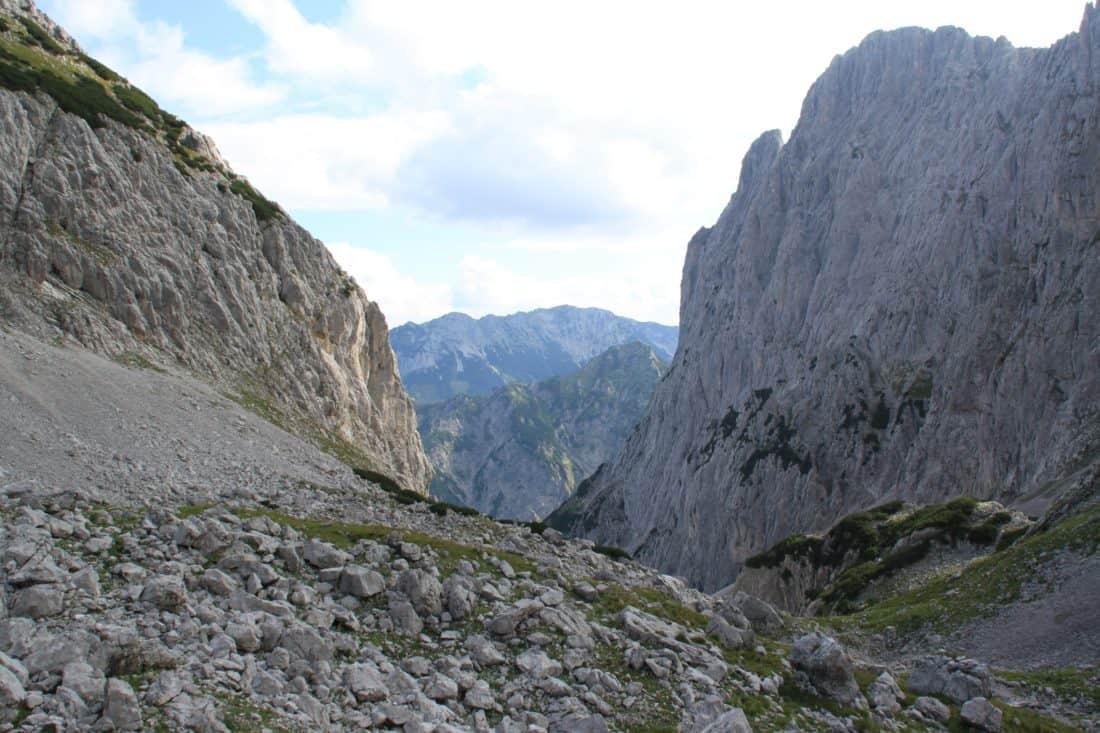 landscape, mountain, erosion, megalith, nature, sky, valley, ascent, granite