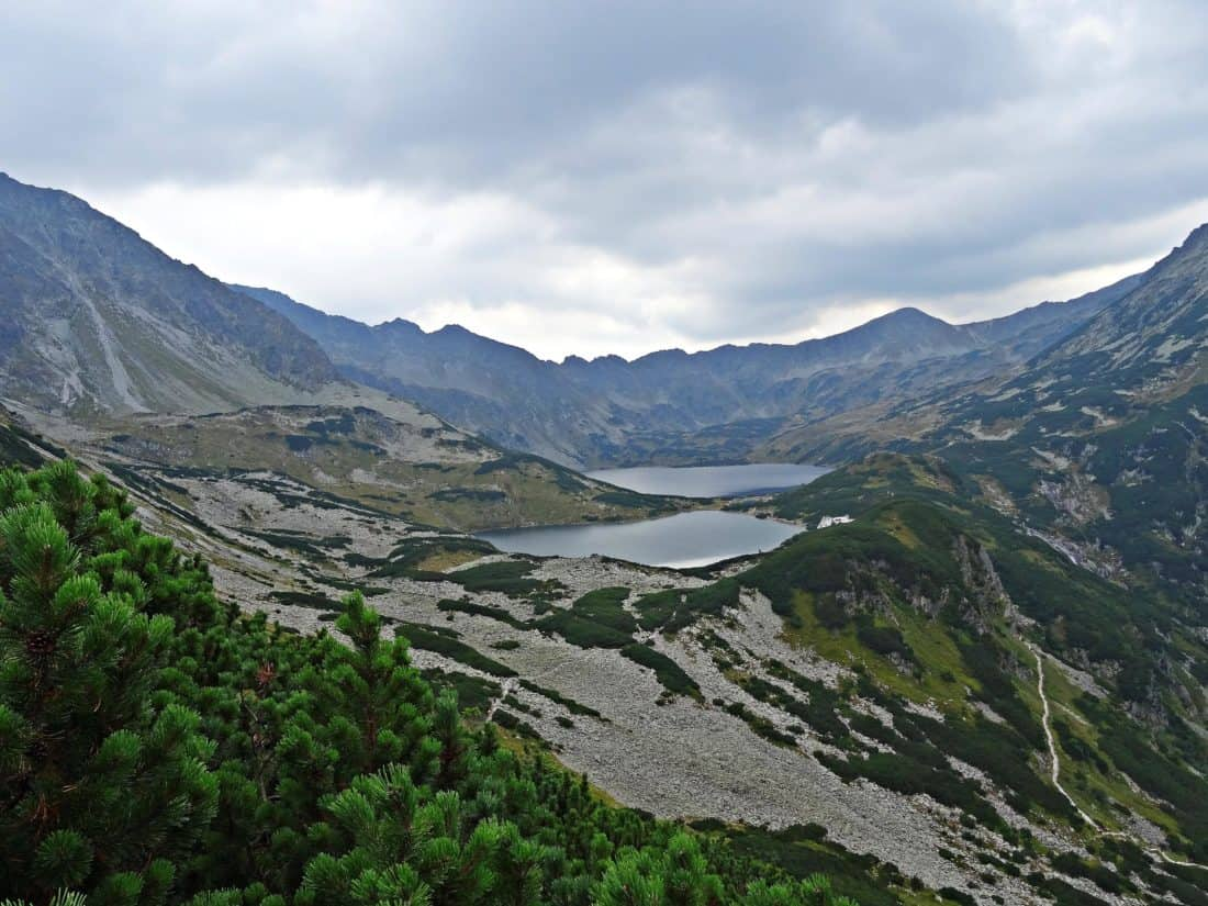 mountain, landscape, nature, glacier, lake, sky, high, national park