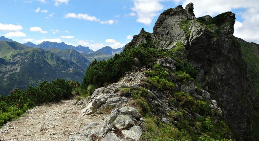 landscape, mountain peak, cloud, nature, sky, outdoor, rocky