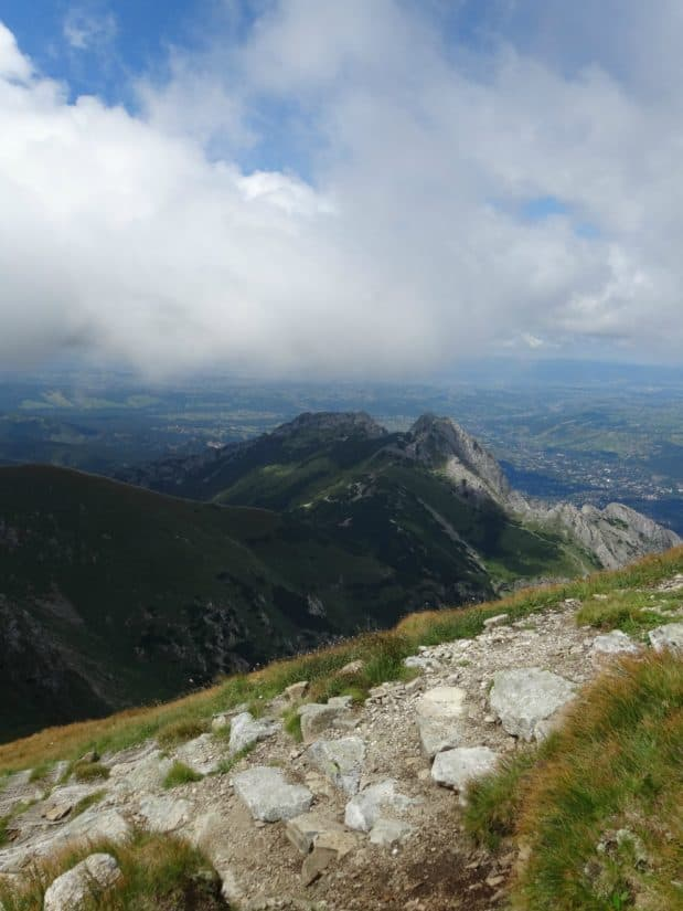 vuori, maisema, sky, pilvi, kivi, luonto, valley, ulko