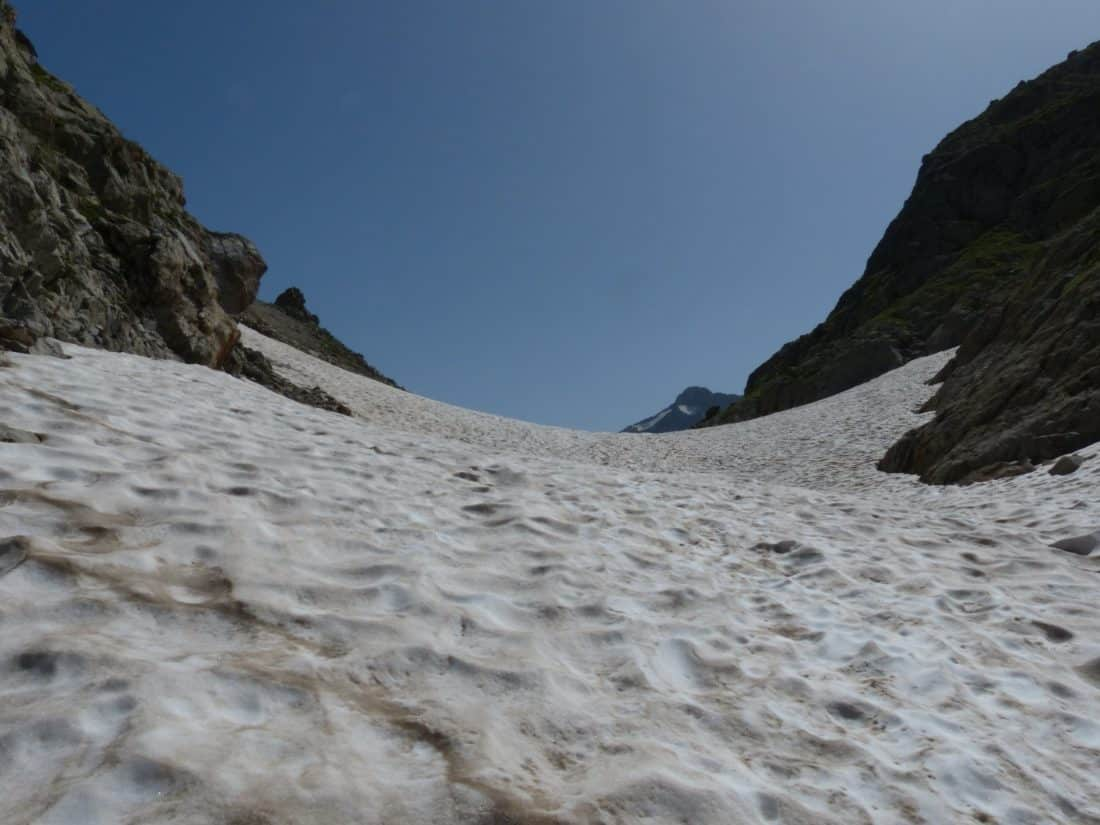 snow, landscape, valley, blue sky, mountain, nature, winter, sky, ice