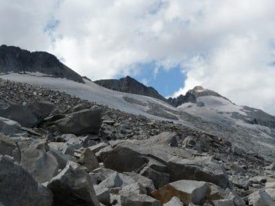 landscape, snow, mountain, sky, mountain peak, glacier, geology, nature, outdoor
