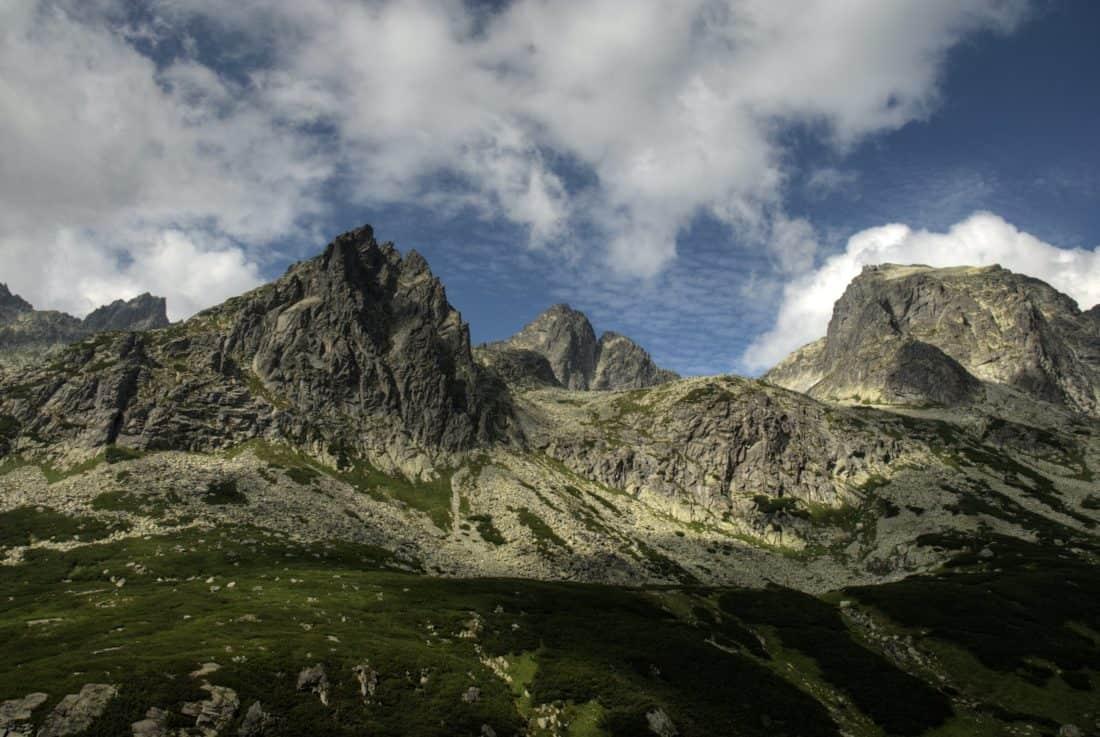 mountain, landscape, sky, snow, mountain peak, geology, glacier, outdoor