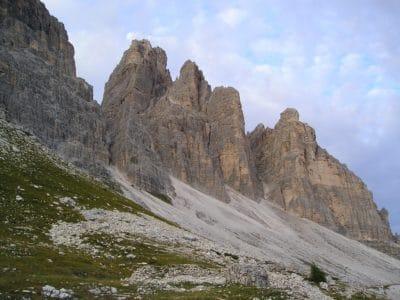 paesaggio, montagna, picco di montagna, nube, Valle, geologia, all'aperto