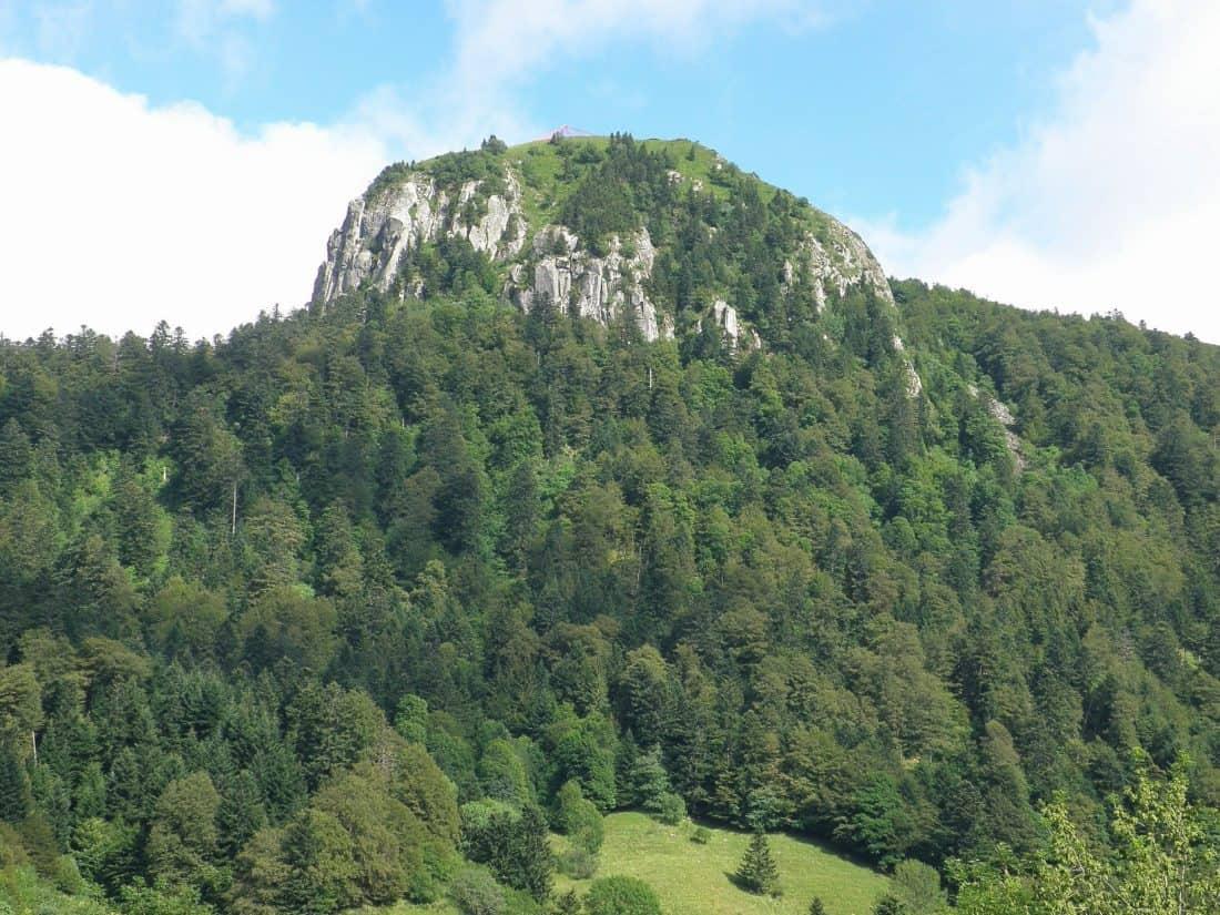 dağ, peyzaj, orman, yeşillik, kozalaklı, doğa, ağaç, ağaç, hill, gökyüzü, açık