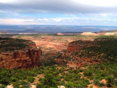 krajolik, priroda, planinski vrh, geologija, oblak, kanjon, dolina, grm, planine, nebo