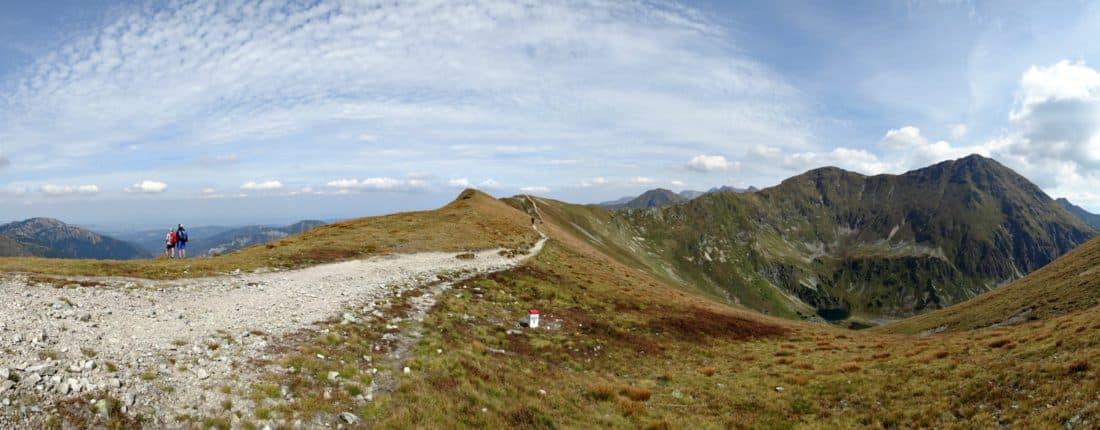 landscape, mountain, sky, mountain peak, geology, nature, ascent, outdoor, grass