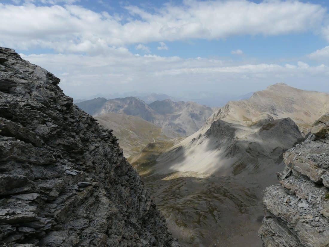 mountain, landscape, mountain peak, cloud, geology, sky, nature, outdoor