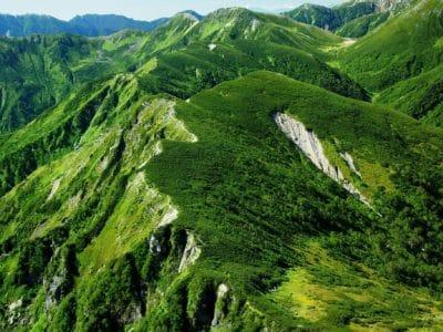 природи, краєвид, зелений, трава, рослинність, гори, долини, небо