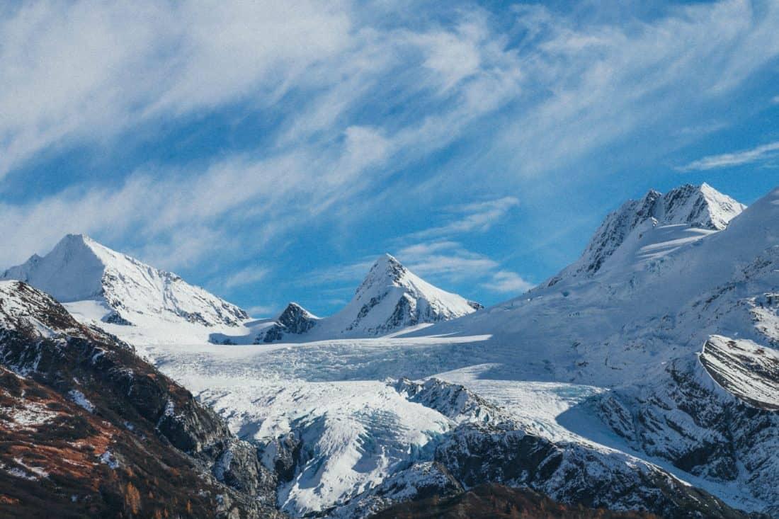 snijeg, planine, smrznuti, visoke, zimske, ledene, hladne, ledenjak, vanjski