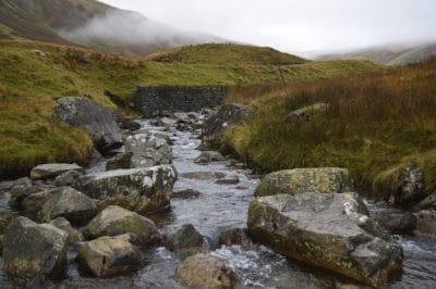 acqua, paesaggio, natura, nuvola, nebbia, fiume, torrente, montagna, all'aperto