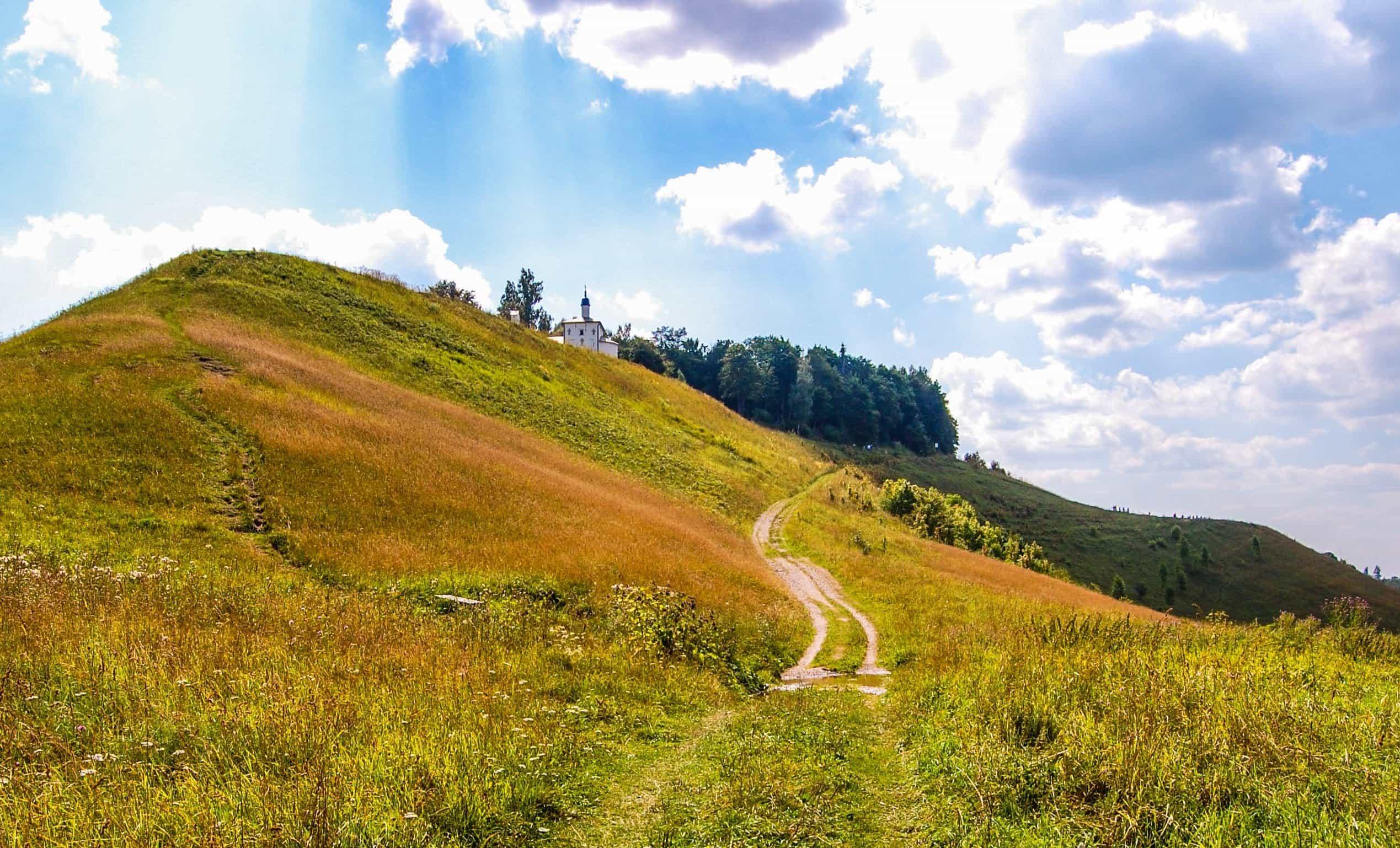 free picture landscape nature grass hill sky field rural