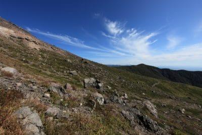 풍경, 산, 자연, 하늘, 오르막, 눈, 푸른 하늘, 야외