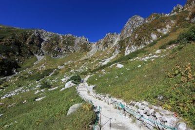 paisagem, montanha, natureza, água, céu azul, neve, geleira, estrada