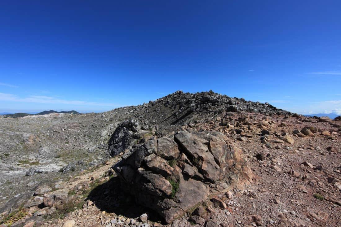 landscape, mountain, ground, stone, sky, nature, desert, outdoor, rocky