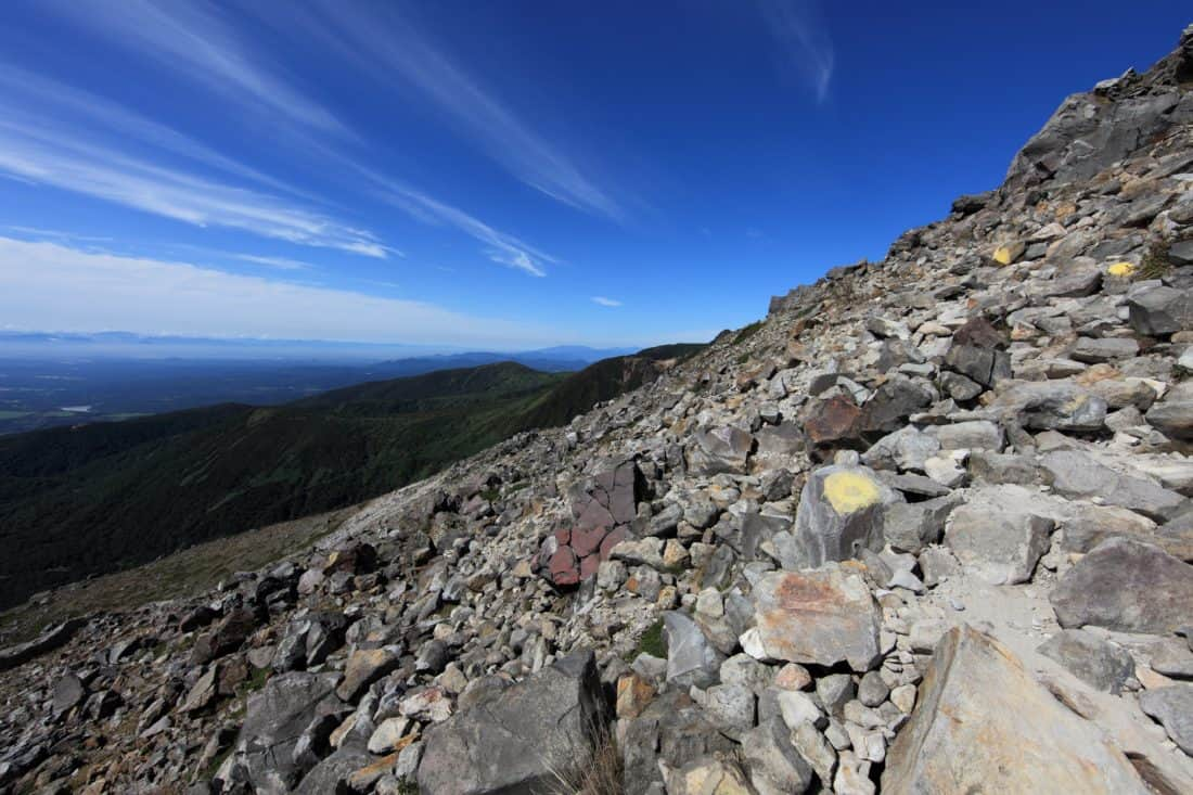 landscape, national park, mountain, sky, nature, ascent, stone, blue sky, outdoor