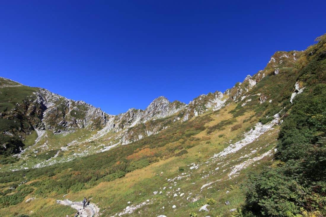 mountain, landscape, nature, blue sky, geology, ascent, high