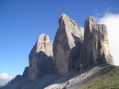 sky, mountain, landscape, mountain peak, valley, outdoor, nature