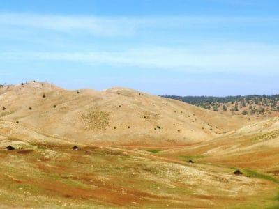 paisaje, naturaleza, colina, escalada de montaña, al aire libre, cielo azul, montaña