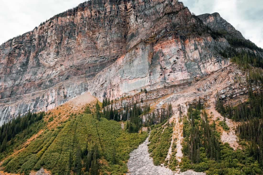 nature, landscape, mountain, wood, sky, mountain peak, valley