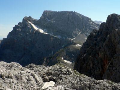 Gunung salju, puncak gunung, geologi, pemandangan, alam, langit, Kolam