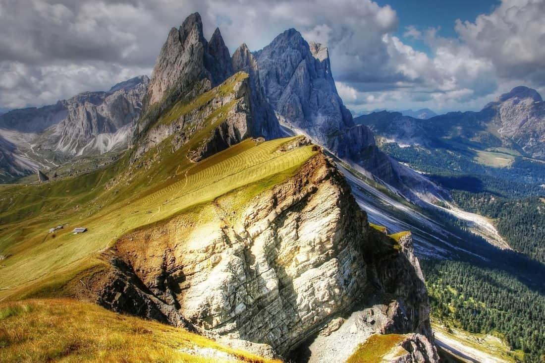 montagne, paysage, nature, ciel, glacier, neige, sommet de montagne