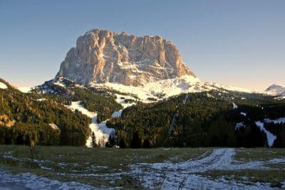 mountain peak, blue sky, cold, winter, mountain, landscape, snow, outdoor, sky, nature