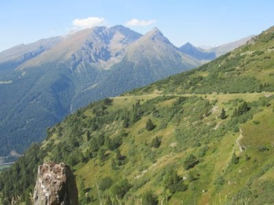 montaña, paisaje, naturaleza, al aire libre, cielo, Valle, nubes, pico de la montaña