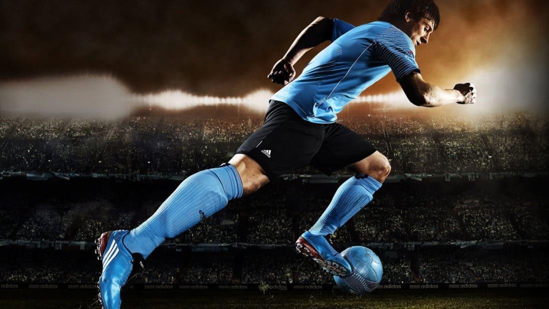 calcio, atleta, forza, competizione, lo sport, uomo, calcio, esercizio, fitness