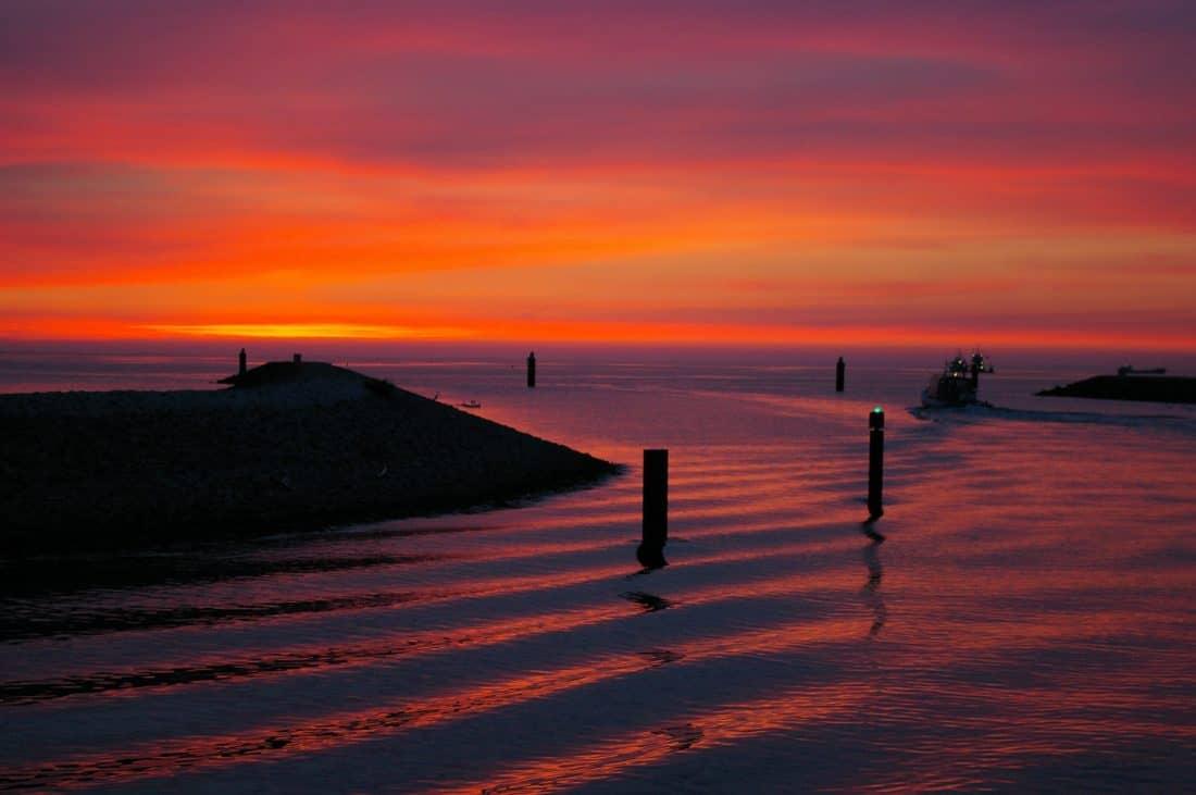 พระอาทิตย์ ขึ้น แปซิฟิก รุ่งอรุณ น้ำ หาด ทะเล พลบค่ำ อาทิตย์ มหาสมุทร ท้องฟ้า