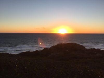 colorido, amanecer, luz del sol, playa, amanecer, agua, mar, sol, atardecer, mar, paisaje