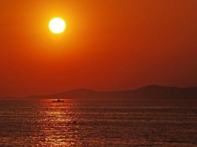 sunrise, sunlight, dawn, sun, dusk, water, sea, sunrise, sky, ocean