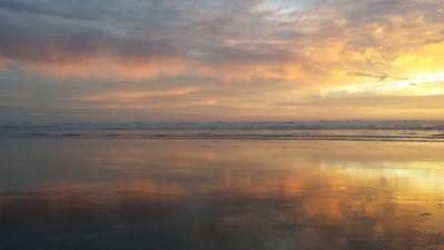 일출, 햇빛, 물, 새벽, 태양, 황혼, 풍경, 해변, 하늘