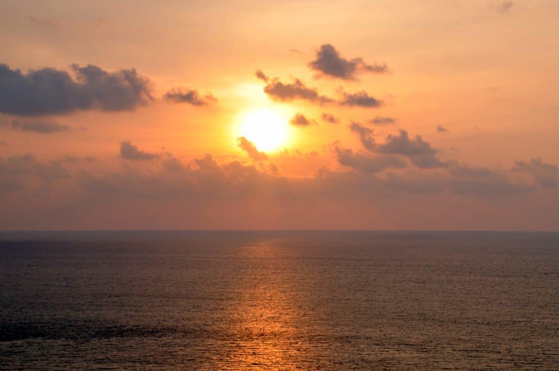 Sonnenaufgang, Sonnenlicht, Dämmerung, Sonne, Wasser, Meer, Meer, Strand, Dämmerung, Landschaft