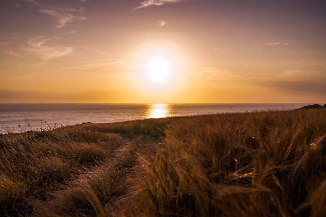 Sonnenaufgang, Landschaft, Dawn, Sonne, Sonnenuntergang, Himmel, Meer, Wolke, Welle