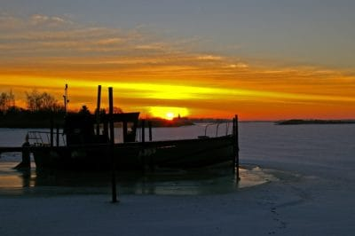 siluetti, varjo, sunrise, vesi, dawn, dusk, sea, beach, laituri, laiva, vene