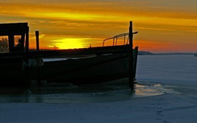 silhouette, shipw, sunrise, dawn, water, beach, sea, ocean, dusk, pier, sun